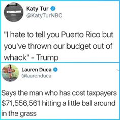"Twitter user @laurenduca‍ metaphorically takes a driver to ""President"" Cheeto's 'family jewels'"