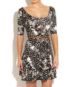 I normally don't like tiger stripes, or any other kind of animal print. But this one is actually quite nice. Tiger Stripes, Tiger Print, Skater Dress, Teen Fashion, New Look, Latest Trends, Two Piece Skirt Set, Animal, Nice