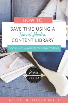 How To Save Time with a Social Media Content Library - Pierce Social