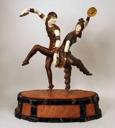 Demètre Chiparus, The Art Deco Sculptor ~ Blog of an Art Admirer