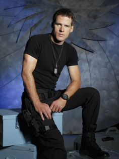 Cameron Mitchell -  SG1  and  John Crichton - Farscape --  Two great series that I really miss.
