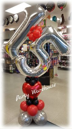 Birthday Party For Teens, Unique Birthday Gifts, 15th Birthday, Baby First Birthday, Number Balloons, Letter Balloons, Party Warehouse, Balloon Arrangements, Balloon Delivery