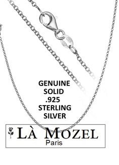 Sterling Silver Italian Crafted Anchor Chain