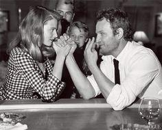 Dree Hemingway and Jason Clarke for Vogue [Bruce Weber]