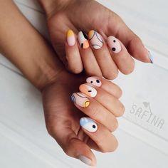 42 Classy Matte Natural Short Nails Design For Fall And Autumn - Cute Acrylic Nails, Cute Nails, Pretty Nails, Pink Nails, My Nails, Fall Nails, Basic Nails, Nail Art, Short Nail Designs