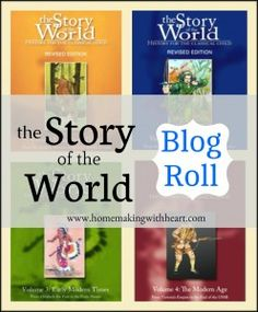 "If you are a blogger that uses Story of the World in your homeschool, come link up any of your SOTW posts at the Story of the World Blog Roll. This is a place where we can share how we're using ""Story of the World"" in our families, glean ideas and tips from one another, and pass on book lists and ideas for extra activities and projects."