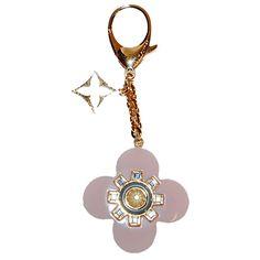 Louis Vuitton Pink Flower Bag Charm http://www.consignofthetimes.com/product_details.asp?galleryid=7445