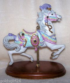 Lenox Carousel Charger Horse Figurine 1990 Mint | eBay