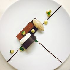 An all too familiar #dessert #flavorprofile: #chocolatemint and #coconut, my pfx dessert for this week. #pastrylife