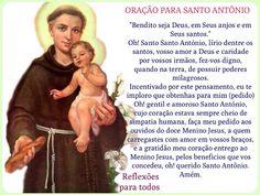 ORAÇÃO PARA SANTO ANTÔNIO