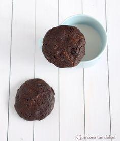 Cookies de chocolate negro y arándanos