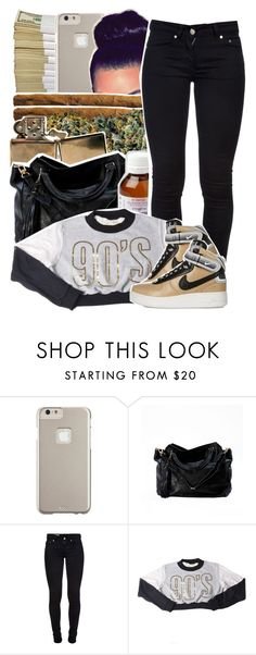 """""""Im what you need"""" by queen-tiller ❤ liked on Polyvore featuring Case-Mate, Dondup and NIKE"""