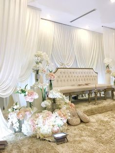 Simple Wedding Decorations, Simple Weddings, Pelamin Simple, Malay Wedding, Wedding Of The Year, Backdrop Wedding, Wedding Inspiration, Wedding Ideas