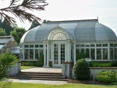 Victorian greenhouse at   Reynolda Village