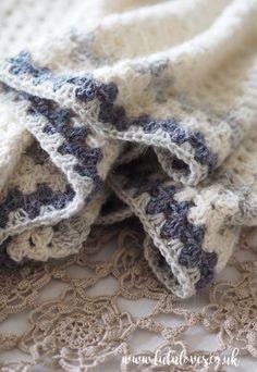 Crochet Tutorial: Granny Shawl