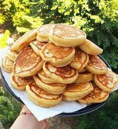 Pancakes, Greek Recipes, Menu Planning, Crepes, Afternoon Tea, Finger Foods, Food Dishes, Donuts, Muffins