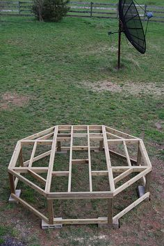Chicken coops on pinterest chicken coops coops and for Gazebo chicken coop