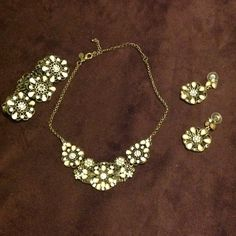 """Selling this """"Cookie Lee Necklace, Bracelet & Earrings Set"""" in my Poshmark closet! My username is: sdgrube. #shopmycloset #poshmark #fashion #shopping #style #forsale #Cookie Lee #Jewelry"""