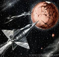 old sci fi art