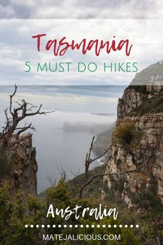 5 Must Do Hikes In Tasmania: Cape Raoul, Mt Amos, Cradle Mountain, South Cape Bay, and Cape Hauy. Come exploring beautiful Tasmania with me! Brisbane, Melbourne, Sydney, Australia Travel Guide, Visit Australia, Australia Holidays, Amazing Destinations, Travel Destinations, Travel Guides