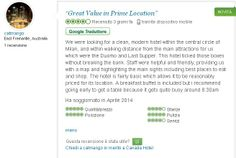 "#tripadvisor ""Great value in prime location"""