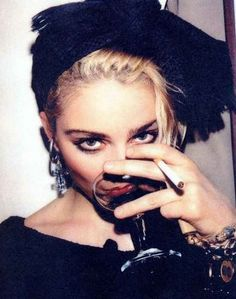 """""""Sometimes you have to be a bitch to get things done."""" // Madonna. Madonna. Madonna!"""