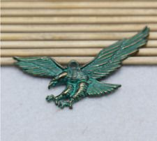 6 / 20pcs 21X51mm Retro Alloy Fashion Eagle Wing Charm Pendant