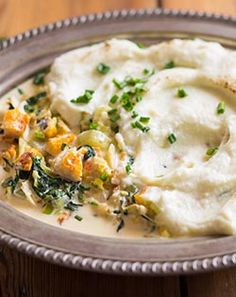 Smoked Haddock Pie with Cauliflower Mash - Cottage pie with a delightful twist # Comfort Food South African Recipes, Ethnic Recipes, Jenny Morris, Salty Tart, Cottage Pie, Mashed Cauliflower, Food Lists, Cheeseburger Chowder, Clean Eating