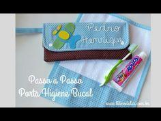Aprenda a fazer passo a passo esse lindo Porta Higiene Bucal e toalhinha de boca! - YouTube