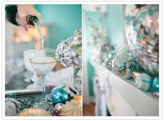 Glamorous girly New Year's party inspiration | Styled Shoots | 100 Layer Cake