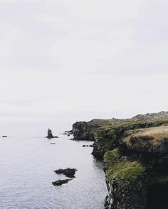 In love with the beautiful cliffs of Arnarstapi.  #iceland #oceanview
