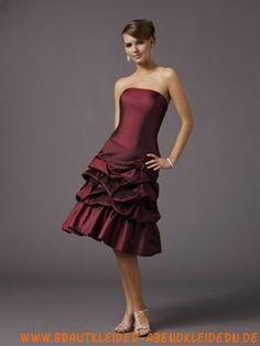 Kurzes luxuriöses Abendkleid 2012