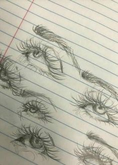 20 Amazing Eye Drawing Ideas & Inspiration – Brighter Craft Drawing Tutorial – Art And Home Pencil Art Drawings, Art Drawings Sketches, Cool Drawings, Drawings Of Eyes, Pencil Sketching, Dark Art Drawings, Art Illustrations, Eye Drawing Tutorials, Art Tutorials