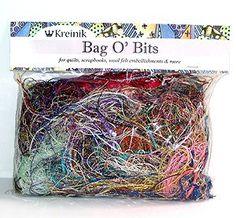 Flash Sale on the Kreinik website! Limited time: Metallic Bag O' Bits - Large