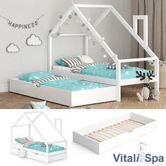 Toddler House Bed, Toddler Bed Frame, Toddler Rooms, House Beds, Kids Room Design, Baby Room Decor, Kid Beds, Kids Furniture, Girls Bedroom