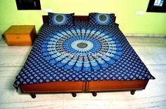 Mandala Tapestry Tapestries Indian Tapestry von Bhagyodayfashions, $34.99