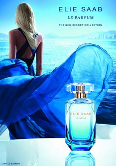 Smartologie: ELIE SAAB Le Parfum RESORT COLLECTION 2015: New Fragrance #BLUEESCAPADE