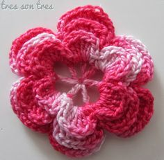 horquilla flor