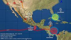Habrá tormentas intensas por la tormenta tropical Ramón en costas de Oaxaca