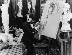 """artist AND auteur: Charlie Chaplin c. 1914 """"The Face on the Bar Room Floor"""""""