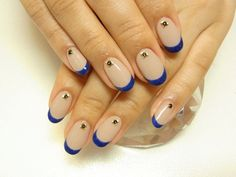 nails: love this i need to get this done but im not too sure about the round nails though