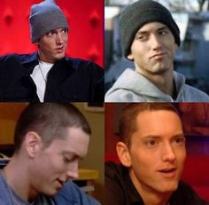 <3 eminem smiling, my fav thing about eminem is his smile. :)
