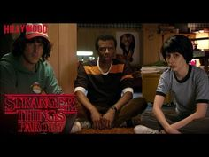 Stranger Things Parody by The Hillywood Show® - YouTube