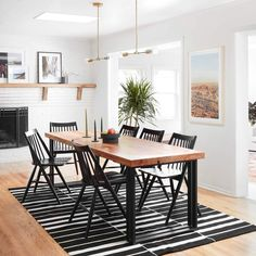 Striped Flatweave Area Rug - Black | Handwoven in Lima – The Citizenry