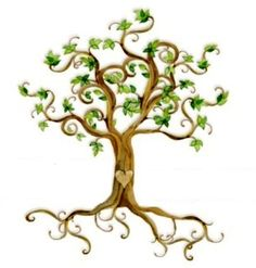 tree tattoo design: the true meaning of life is to plant trees, under whose shade you do not expect to sit
