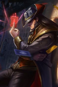 Card Master - Twisted Fate - League of Legends (artist? Lol League Of Legends, Champions League Of Legends, League Of Legends Characters, Fantasy Character Design, Character Design Inspiration, Character Art, Character Ideas, Fantasy Male, Fantasy Warrior