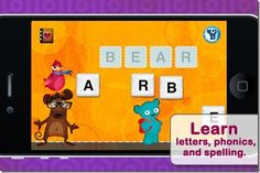link to a great list of ipad apps for preschoolers