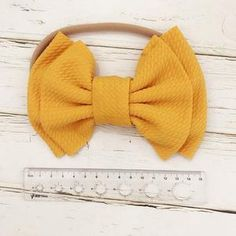 Our Anikanaya Baby bow bands are perfect for those little girls just getting some hair in or have long hair. Instock and ready to Ship Attached on a soft band Choose from all 9 colors Material is Nylon + Polyester Bow Hairband, Diy Headband, Baby Girl Headbands, S Girls, Cute Girls, Toddler Girls, Mint And Navy, Matching Family Outfits, Big Bows
