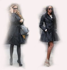black coat, Sofia Vergara VS Naomi Campbell fashion diva who-wore-it-better celeb celebrity