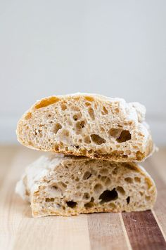 This whole wheat ciabatta bread is easier to make than you would think - you won't buy store bought again!